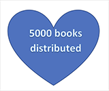 5000 Books Distributed